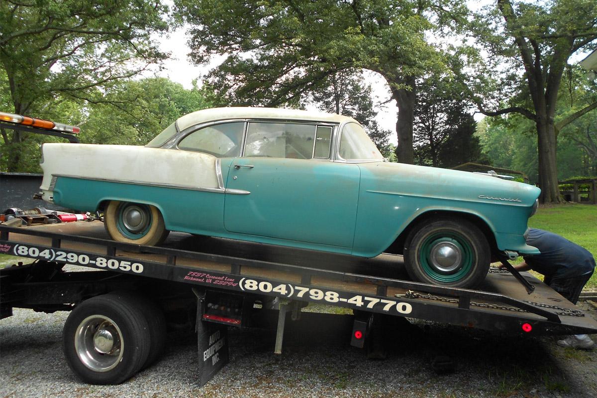1955 Chevy 210  U2013 Wicked Rods  U0026 Customs